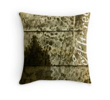 Altered, Inside Title Page Throw Pillow