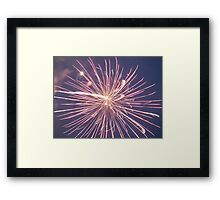 Multiple Exposure Framed Print
