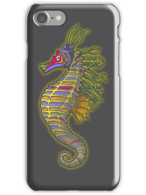 Crayon Pony Fish by Tom  Ledin