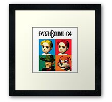 MOTHER 3 / EarthBound 64 Tiles (EarthBound 64 Logo) Framed Print
