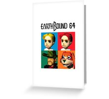 MOTHER 3 / EarthBound 64 Tiles (EarthBound 64 Logo) Greeting Card