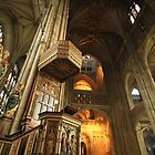 Canterbury Cathedral Pulpit by Jane McDougall