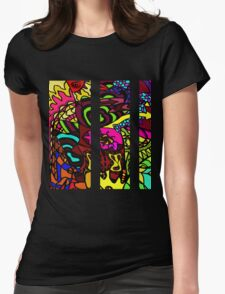 CRUX - Psychedelic artwork Womens Fitted T-Shirt