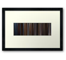 Moviebarcode: Gladiator (2000) Framed Print