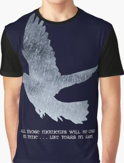 Blade Runner Quote Graphic T-Shirt