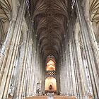 Canterbury Cathedral Interior by Jane McDougall