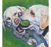 Labrador Retriever Fine Art Painting Photographic Print