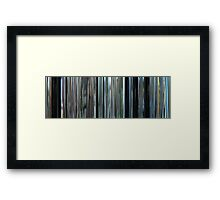 Moviebarcode: The Isle / Seom (2000) Framed Print