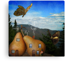 What The Butterflies Saw Canvas Print