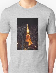 Tokyo Tower by Night T-Shirt