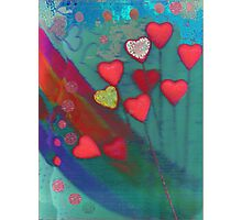 Hearts in the wind Photographic Print