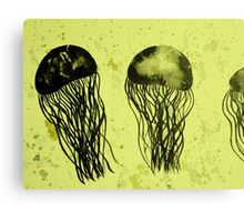 Just Some Jellyfish Canvas Print