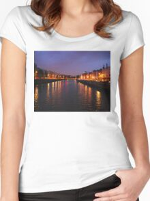 Dublin Nights Women's Fitted Scoop T-Shirt