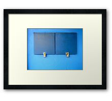 14/1 They maintained a facade of perfect calm, perfect civility.... Framed Print
