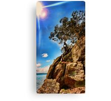 Holy Cliffhanger Batman!! Canvas Print