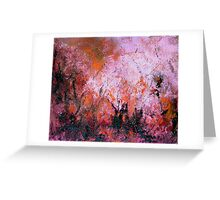 Burning Bush 1 Greeting Card
