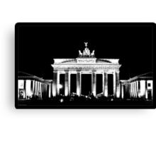 The Brandenburg Gate Canvas Print