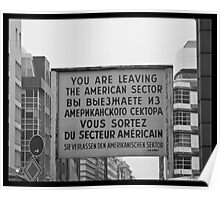 Checkpoint Charlie Poster