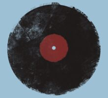 Grunge Vinyl Record Kids Clothes