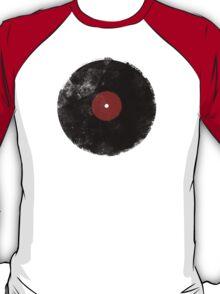 Grunge Vinyl Record T-Shirt