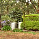 Station Topiary by Elaine Teague