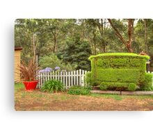 Station Topiary Canvas Print
