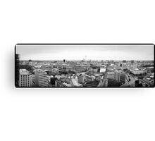 Berlin Skyline Panorama Canvas Print