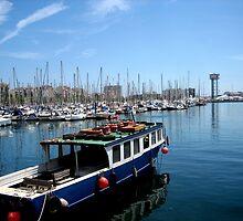 Port of Barcelona by Honeyboy Martin