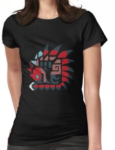 Monster Hunter Rathalos  Womens Fitted T-Shirt