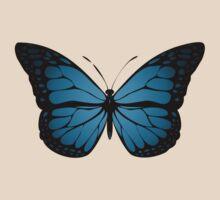Blue Monarch Butterfly by jezkemp