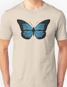 Blue Monarch Butterfly T-Shirt