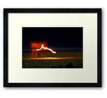 Hot Stuff! Framed Print