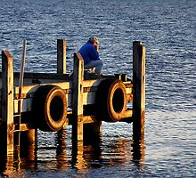 Quiet Contemplation - Hopetoun Western Australia by Phil Woodman