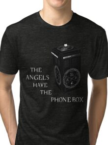 Superwho - The Angels have the phone box Tri-blend T-Shirt