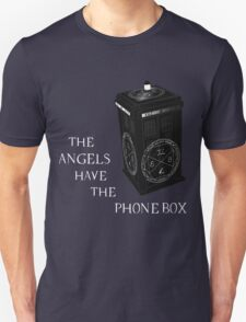 Superwho - The Angels have the phone box T-Shirt
