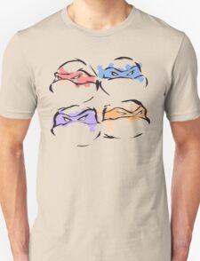 Colors of a Ninja Unisex T-Shirt
