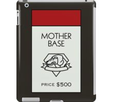Mother Base - Property Card iPad Case/Skin
