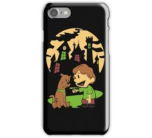 Calvin and Hobbes Scooby iPhone Case/Skin