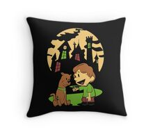 Calvin and Hobbes Scooby Throw Pillow