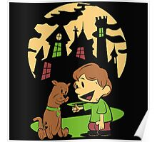 Calvin and Hobbes Scooby Poster