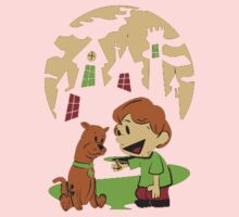 Calvin and Hobbes Scooby Kids Tee