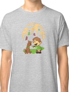 Calvin and Hobbes Scooby Classic T-Shirt