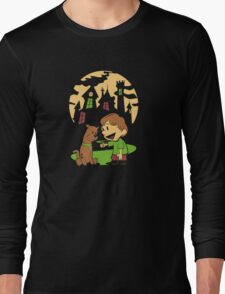 Calvin and Hobbes Scooby Long Sleeve T-Shirt