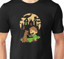 Calvin and Hobbes Scooby Unisex T-Shirt