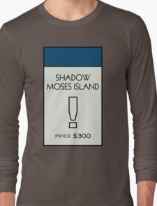 Shadow Moses Island - Property Card Long Sleeve T-Shirt