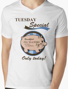 Supernatural - Pig 'n a poke Mens V-Neck T-Shirt