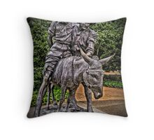 Simpson And His Donkey, 1915 Throw Pillow