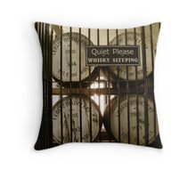 Whisky Sleeping Throw Pillow