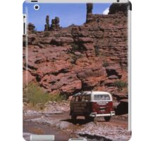 VW Campervan Canyon Tour iPad Case/Skin