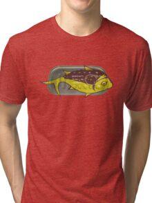 Squashed Fish Tri-blend T-Shirt